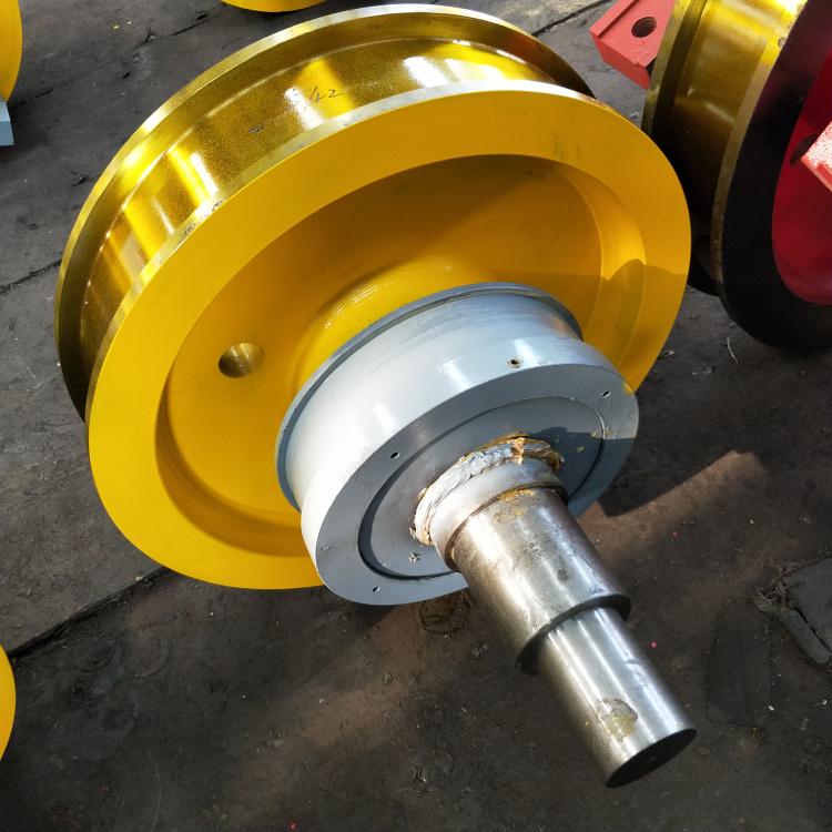 700×210双边主动行车轮双梁锻造行车轮组**131961062