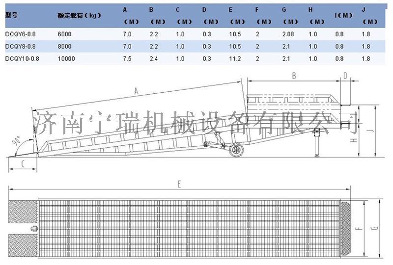 码头港口装卸平台  车间仓库液压登车桥升降平台118547132