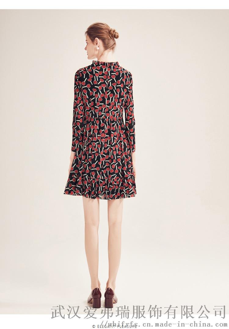 丽想2020春五分袖宽松中长款裙进货带多少钱合适894007825