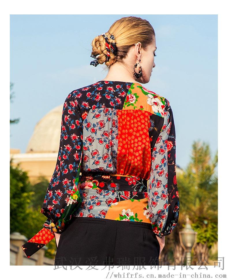 丽想2020春五分袖宽松中长款裙进货带多少钱合适894007805