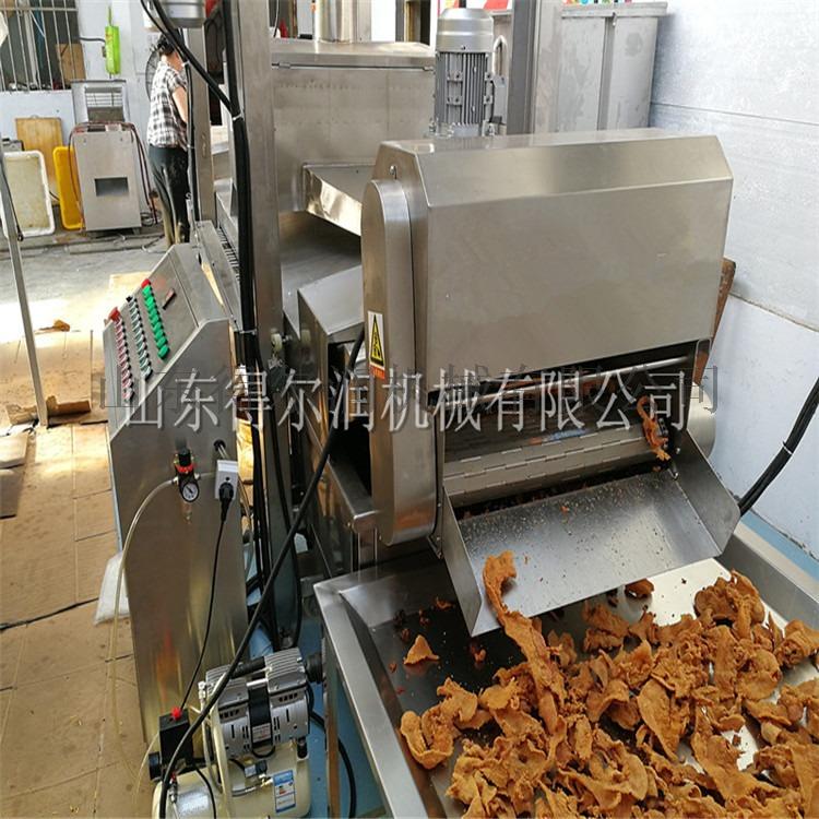 304五花肉油炸线 脂渣连续油炸机 酥肉油炸流水线98842452