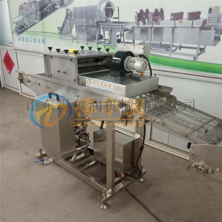 带鱼生产加工线 带鱼上浆机 刀鱼裹面包糠设备134478682
