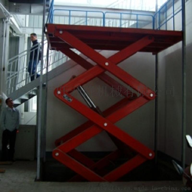 SJG型佰旺固定式升降机固定式升降货梯定制维修866365242