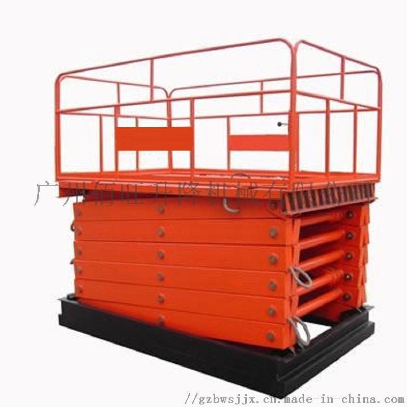 SJG型佰旺固定式升降机固定式升降货梯定制维修866365272