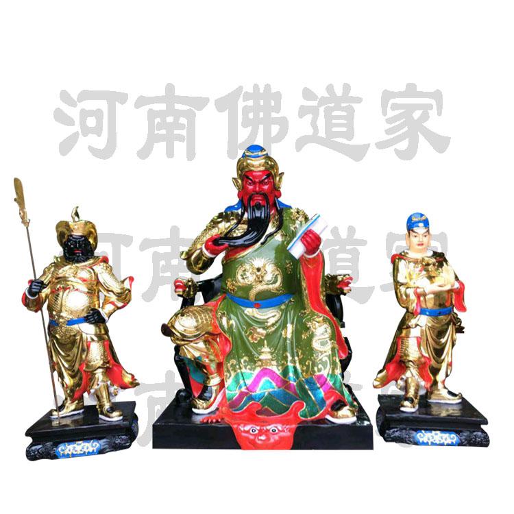 关羽刘备张飞雕塑 佛像厂家868551772