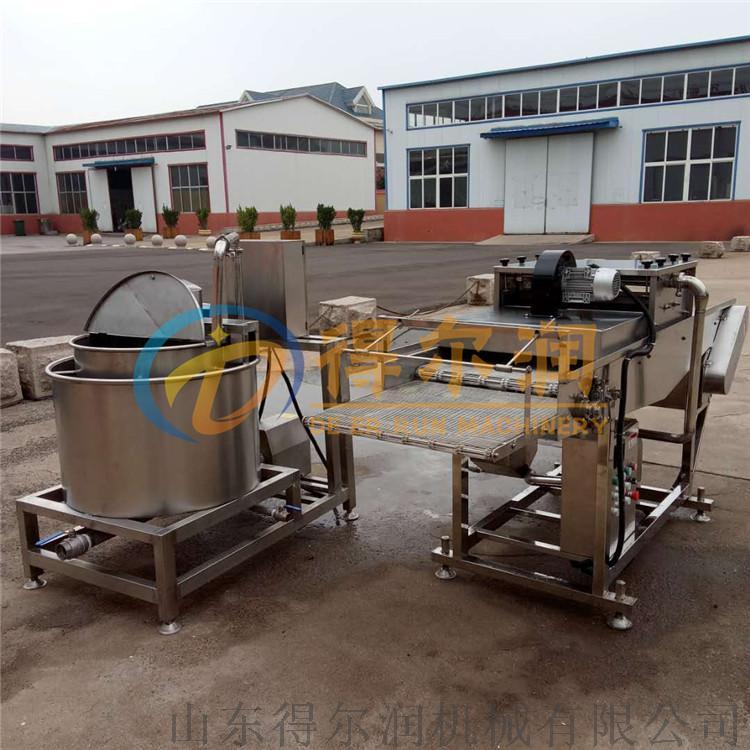 鸡排挂浆裹糠机生产线 鸡排加工自动化设备52835052