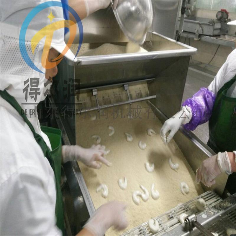 得尔润DE3000型肉饼上浆机 全自动鸡排上浆设备135812272