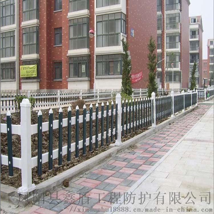 海南绿色草坪护栏 pvc绿化围栏厂家767449592