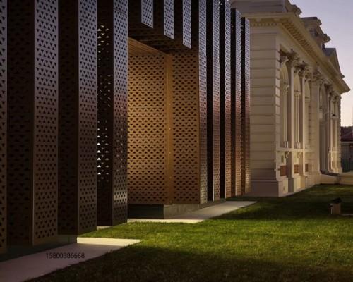 外墙冲孔幕墙装饰铝板华丽的线条871885512
