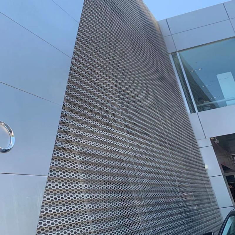 奥迪外墙装饰孔板亮点颇多871662862