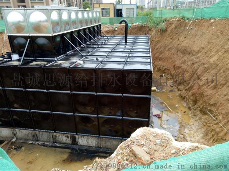 BDF抗浮地埋式箱泵一体化水箱防腐及操作156662985