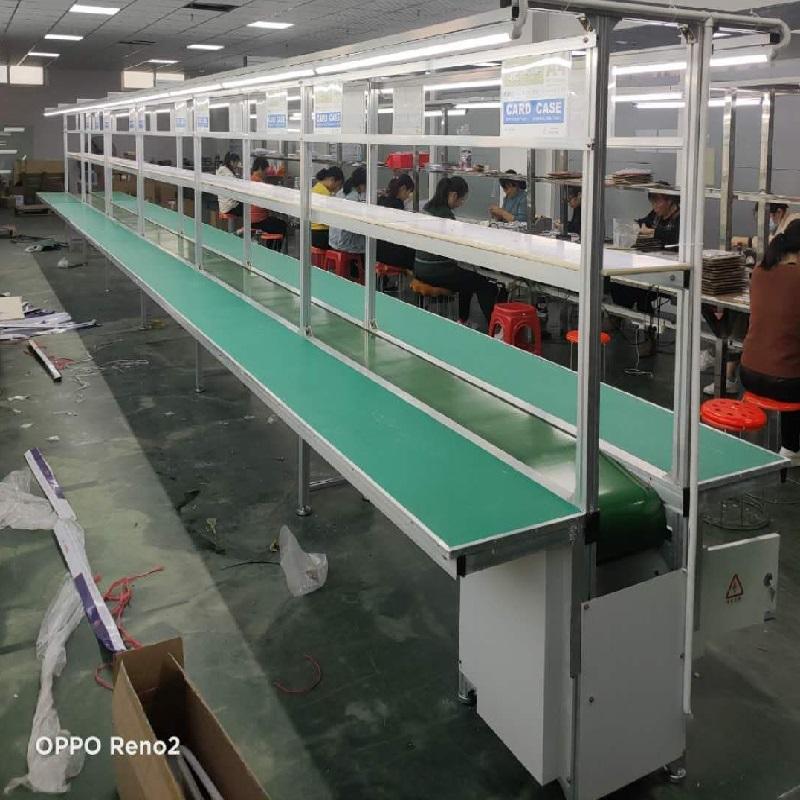 定制电子流水线 车间皮带式生产线 物流输送线厂家862761522