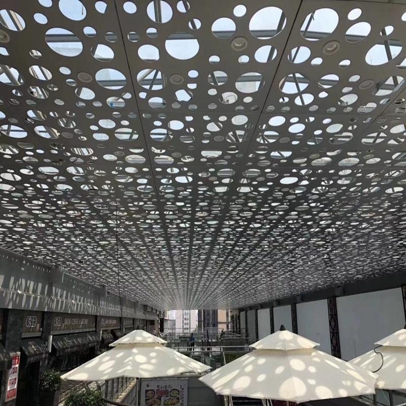 金属吊顶装饰板-冲孔铝扣板玩转时尚风137934022