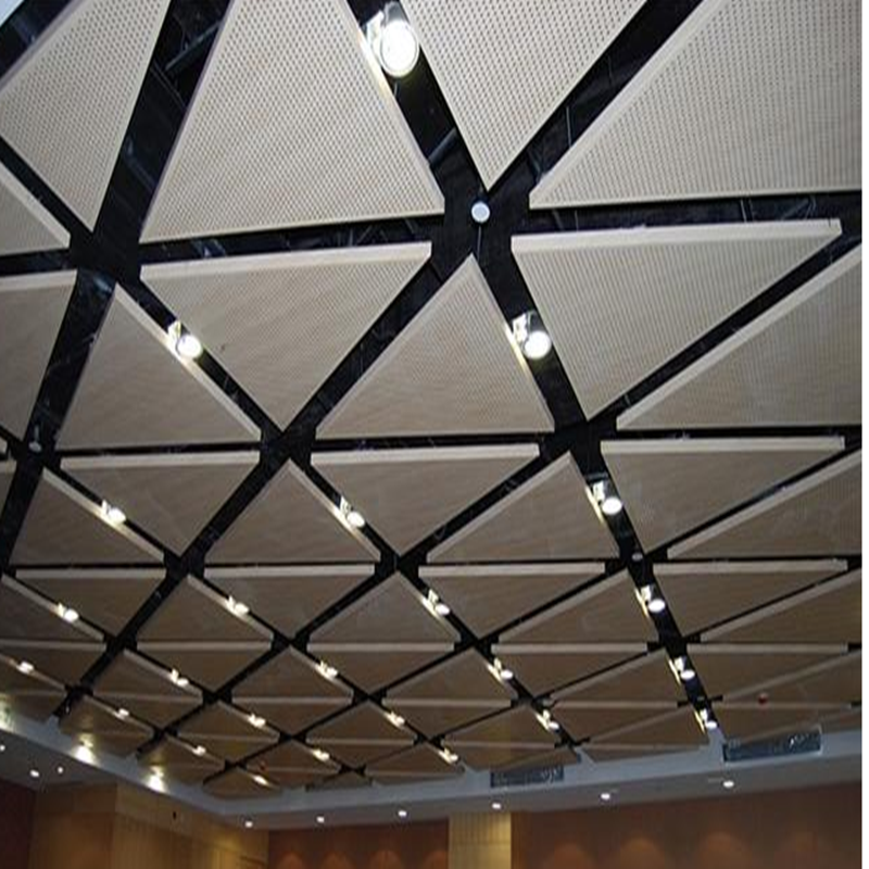 金属吊顶装饰板-冲孔铝扣板玩转时尚风137934012