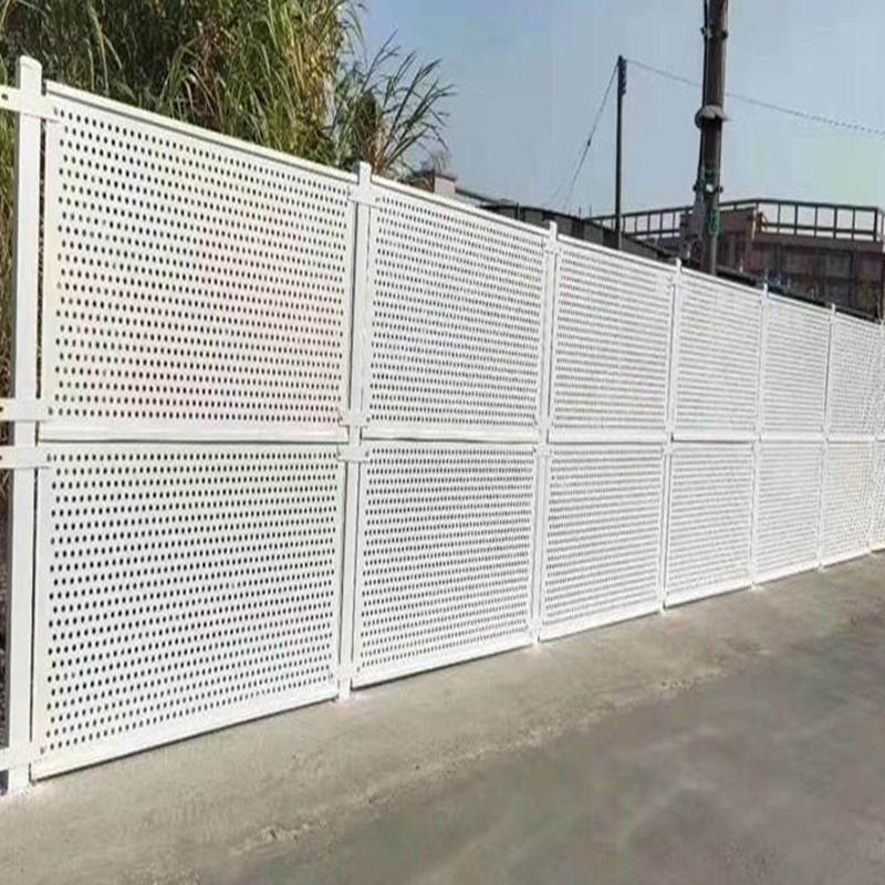 公路围挡防护冲孔装饰铝板打造出简奢而雅致风格873222202