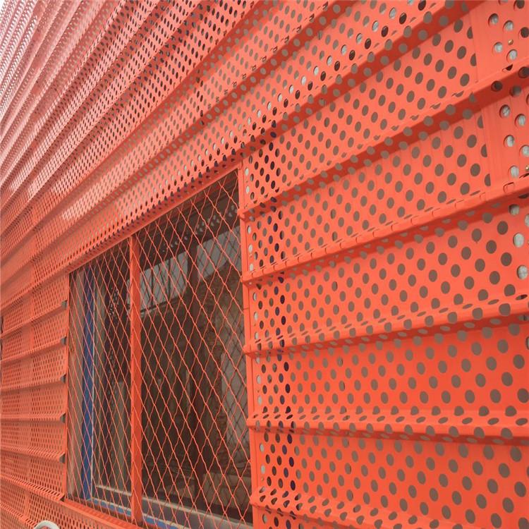 门头冲孔装饰铝板气质满满873190952