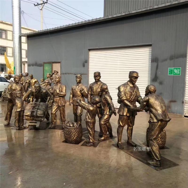 广州党建文化**人物雕塑 名图玻璃钢厂家一键成交908089515