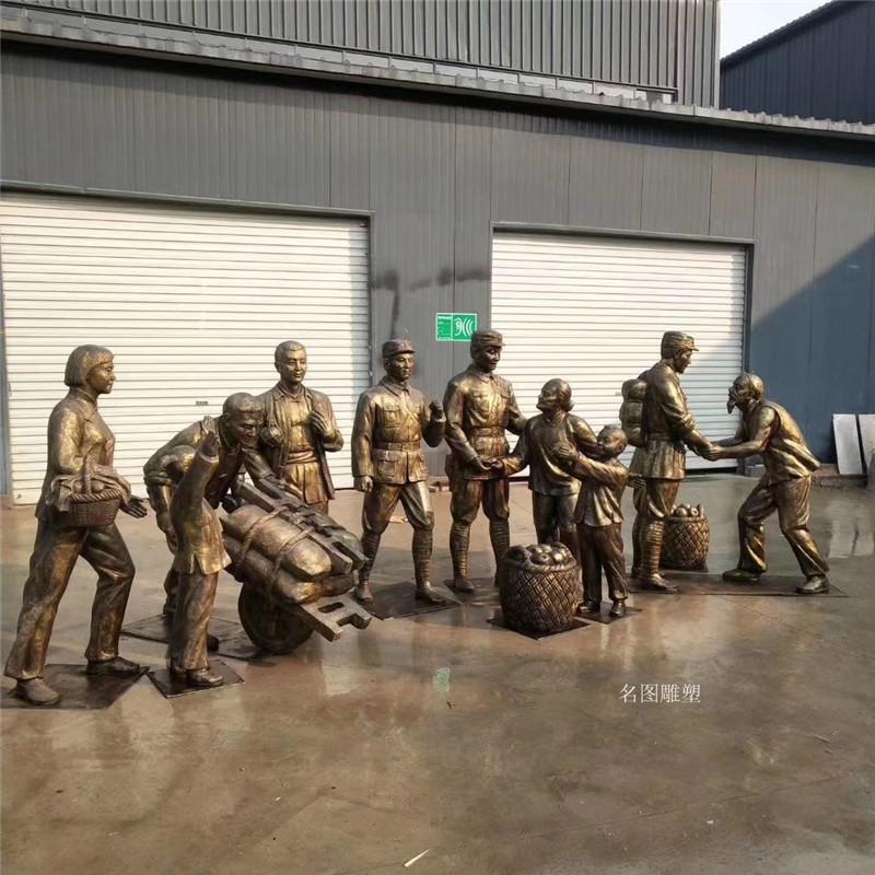 广州党建文化**人物雕塑 名图玻璃钢厂家一键成交137640855