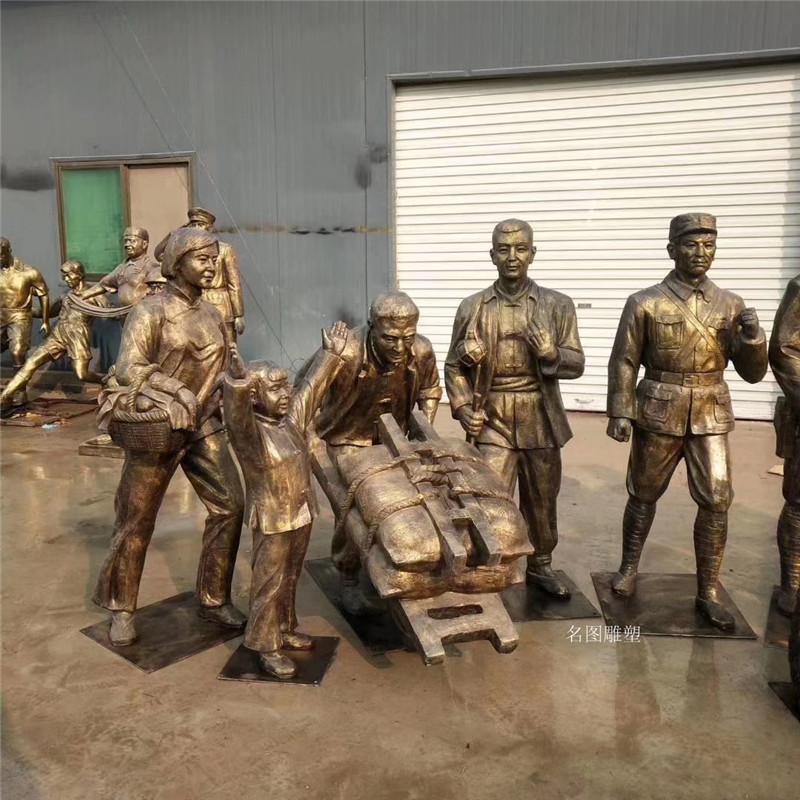 广州党建文化**人物雕塑 名图玻璃钢厂家一键成交137640845