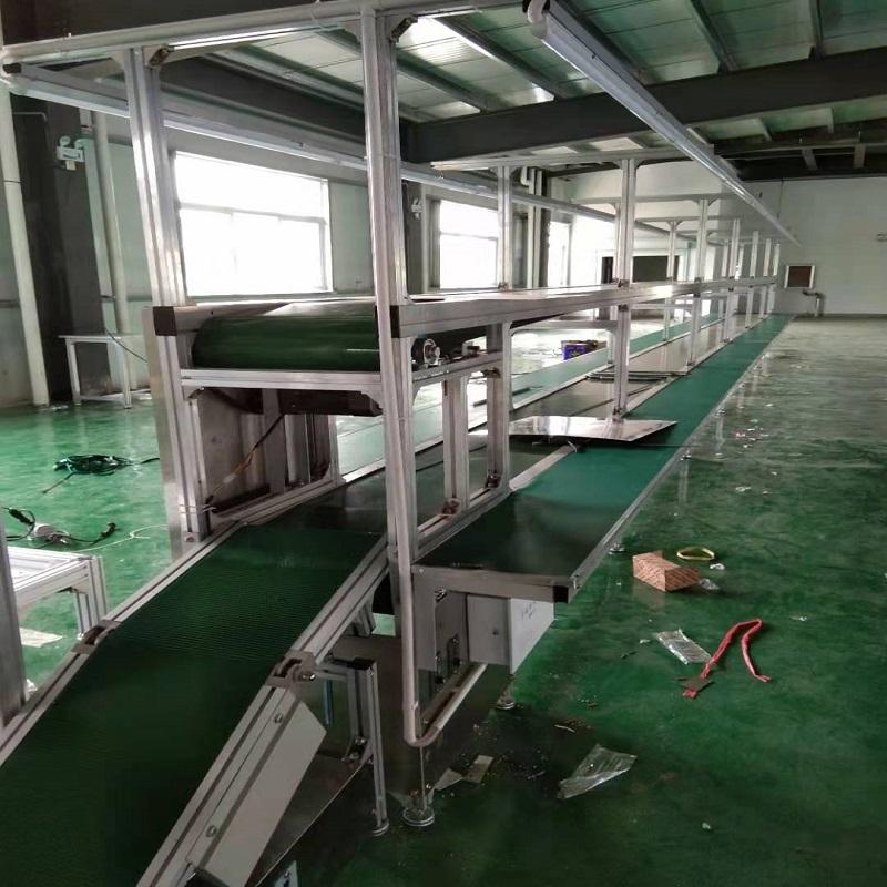 供应电子流水线 小家电输送线 PVC皮带流水线138423152