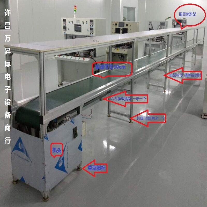 河南直销电子装配生产线 包装流水线 家电生产线91230522