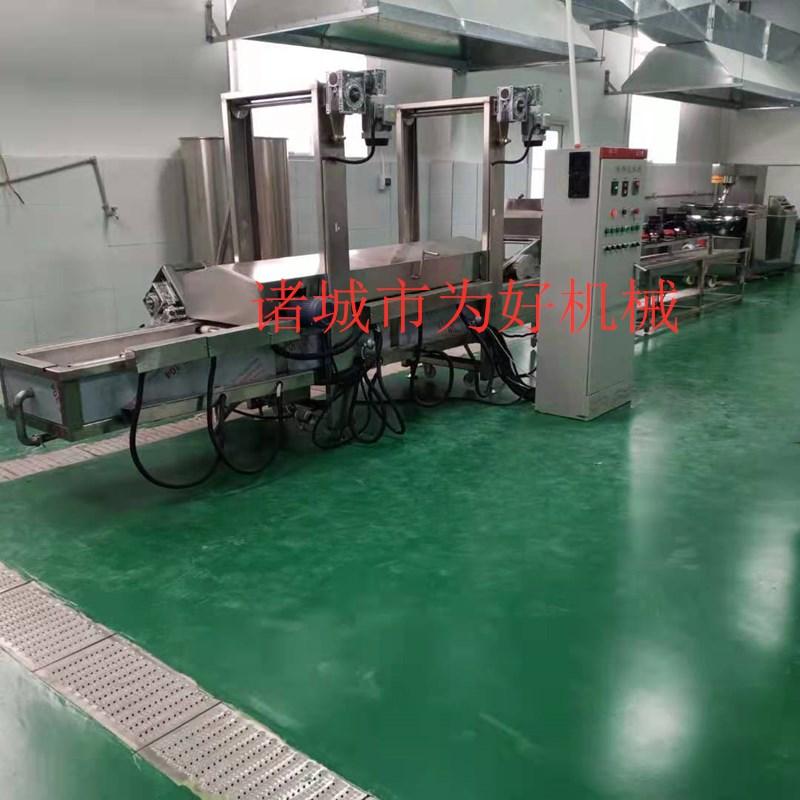 吉林锅包肉油炸机   小酥肉油炸设备135957672
