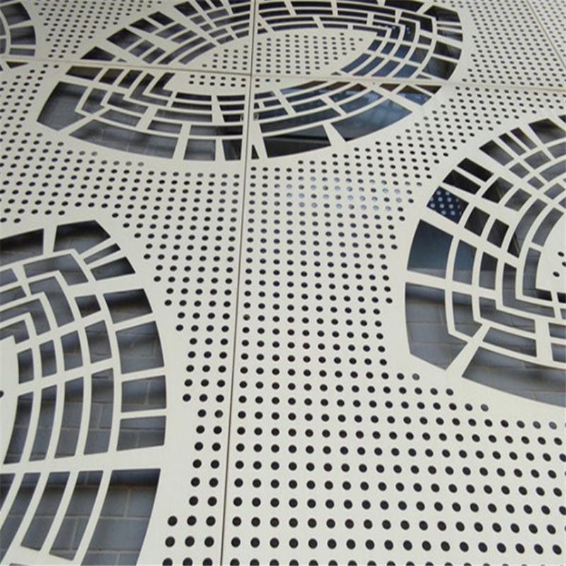 建筑幕墙穿孔装饰铝单板实体厂家139255052
