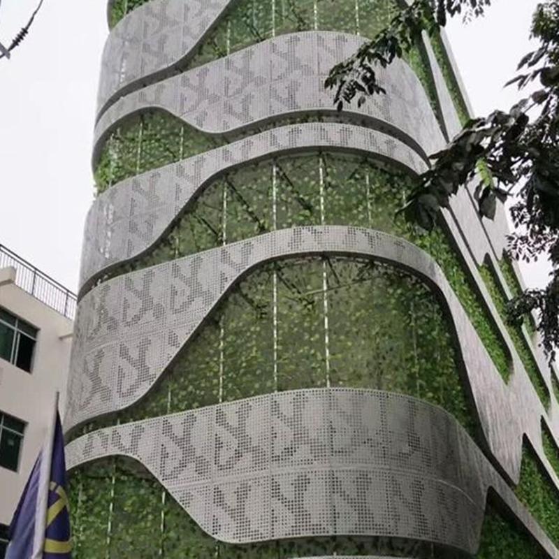 建筑幕墙穿孔装饰铝单板实体厂家139255092