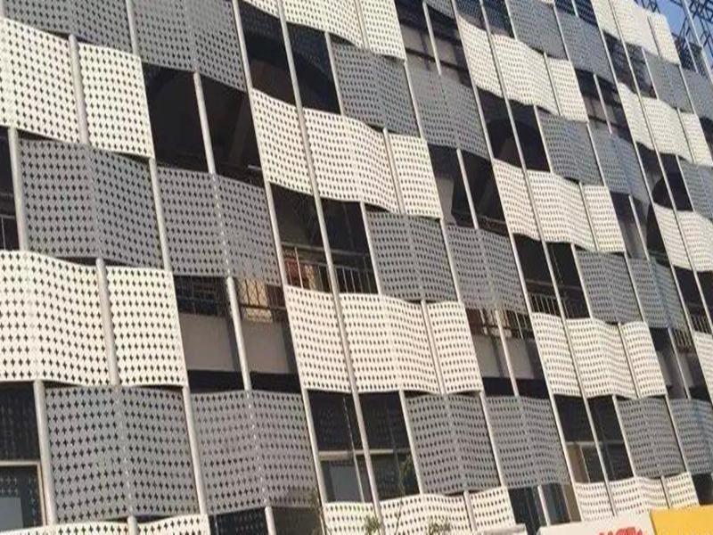 建筑幕墙穿孔装饰铝单板实体厂家139255042