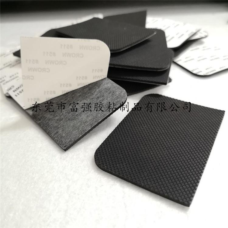 硅橡胶垫 格纹橡胶脚垫 自粘橡胶垫片 橡胶减震垫138552872