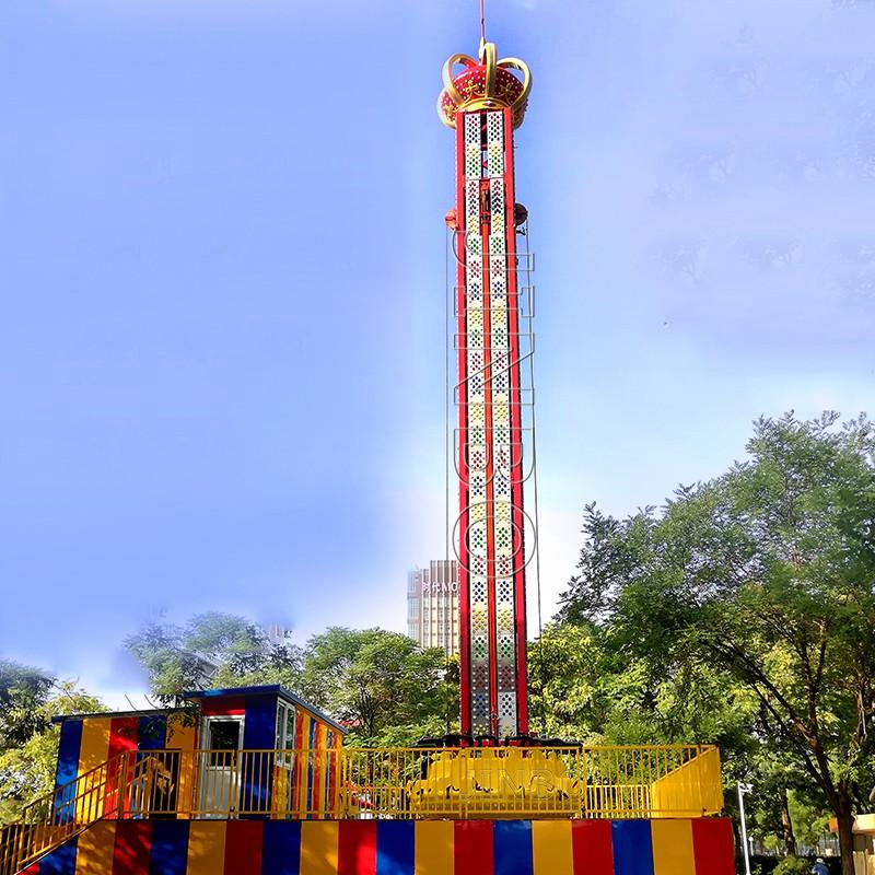 高空旋轉類遊樂設施 75米旋轉飛梭遊藝器材914902725