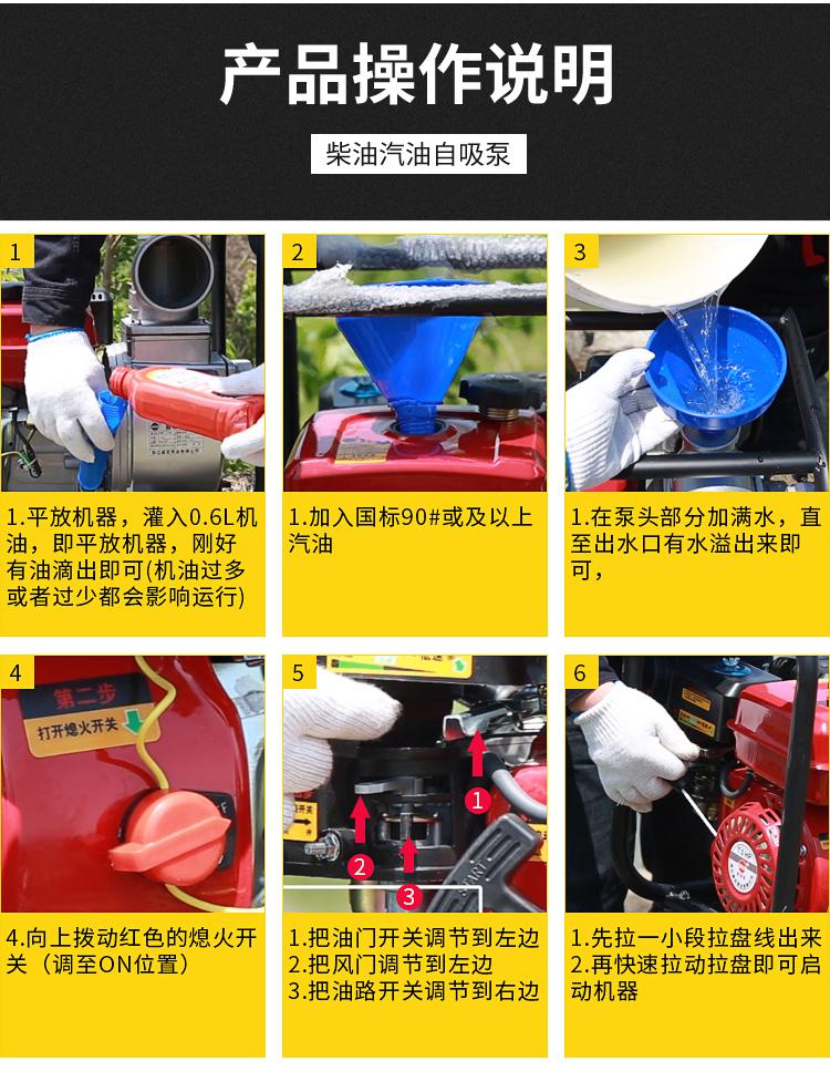 大泽动力2寸汽油水泵140034452