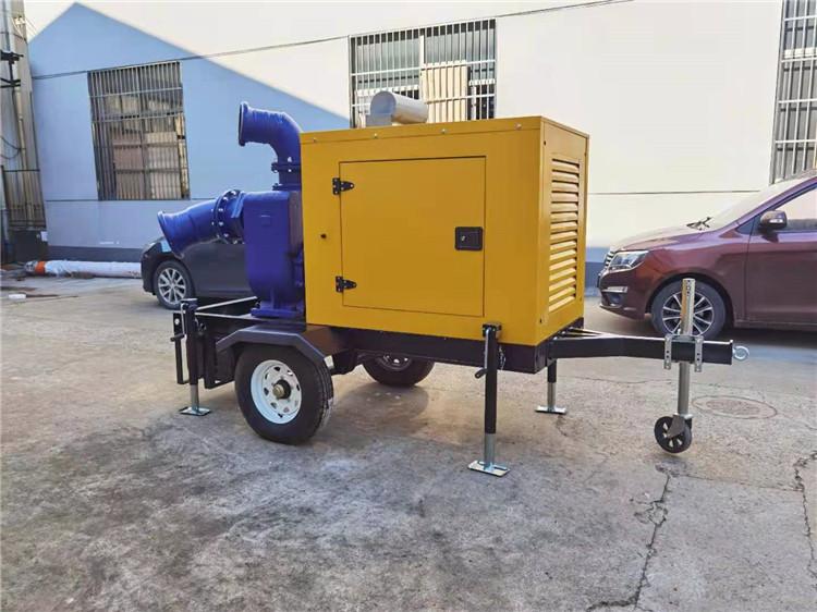 防水防洪8寸柴油自吸水泵877520482