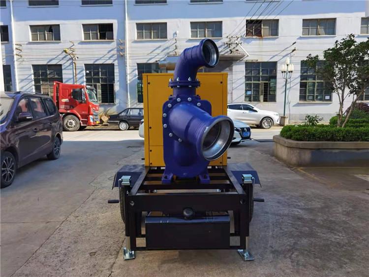防水防洪8寸柴油自吸水泵140039692