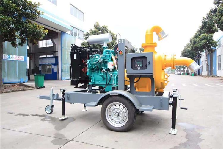 防水防洪8寸柴油自吸水泵140039712