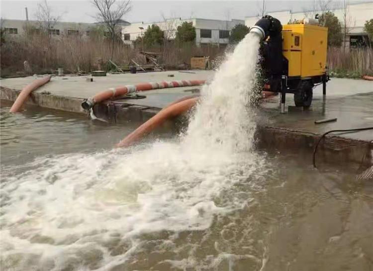 防水防洪8寸柴油自吸水泵140039722