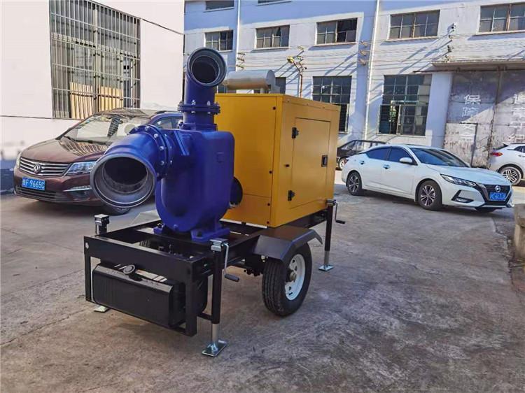 防水防洪8寸柴油自吸水泵140039702