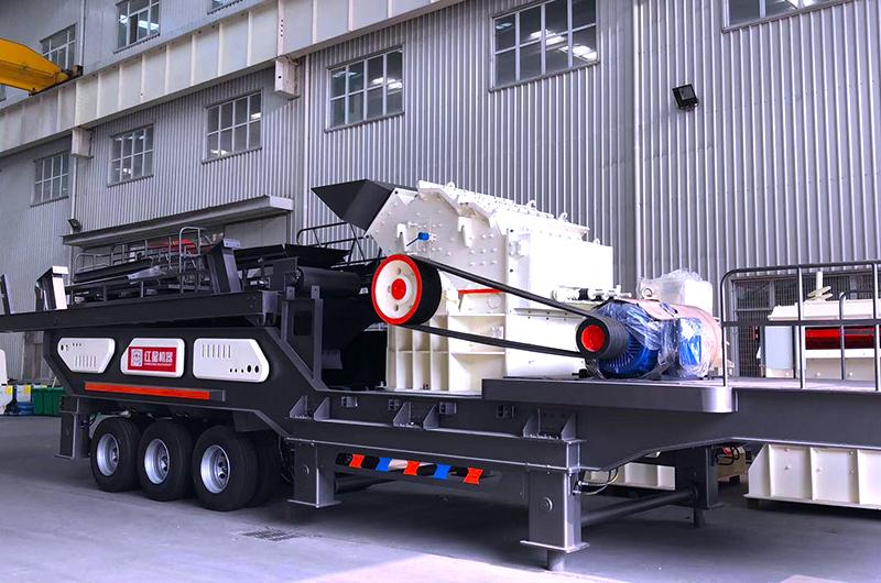 可移动式破碎机报价 河南移动破生产厂家 红星机器140095232