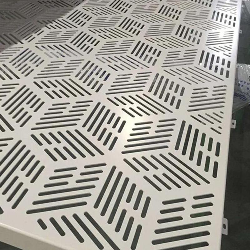 建筑幕墙冲孔铝板装饰网新颖时尚的味道873389082
