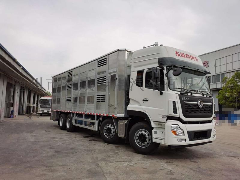 蓄禽9.6米运输车运猪车厂家直销可分期919966585