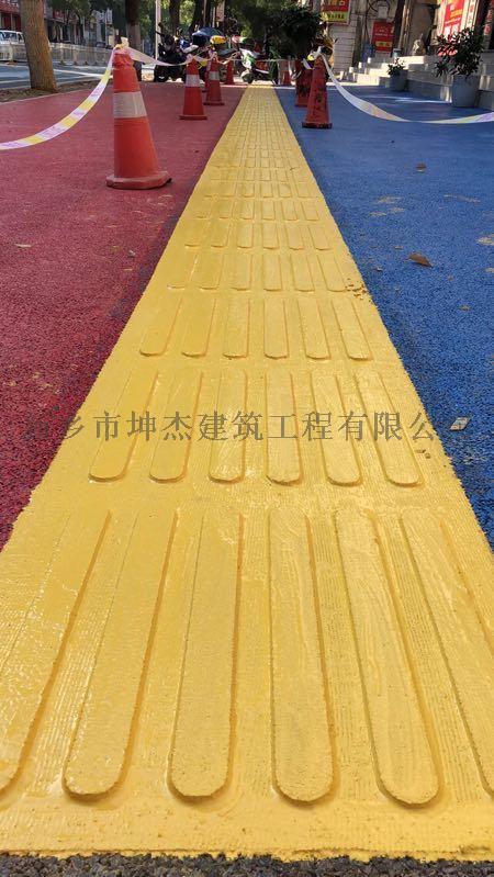 栾川县商业街路面做现浇金刚盲道930342475