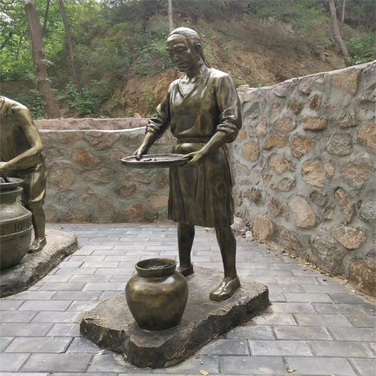 玻璃钢渔夫人物雕塑 公园情景小品打鱼人雕塑146526705