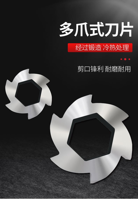 工业垃圾撕碎机 废钢铁皮撕碎机  薄膜管材撕裂机147512055