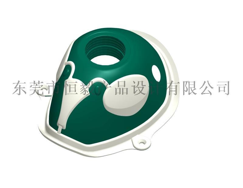 面具抄数,防毒面罩抄数,头盔抄数画图150418895