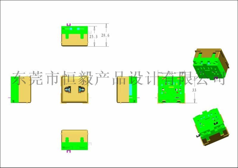 产品抄数设计,电器产品抄数,自动化设备抄数画图945365875
