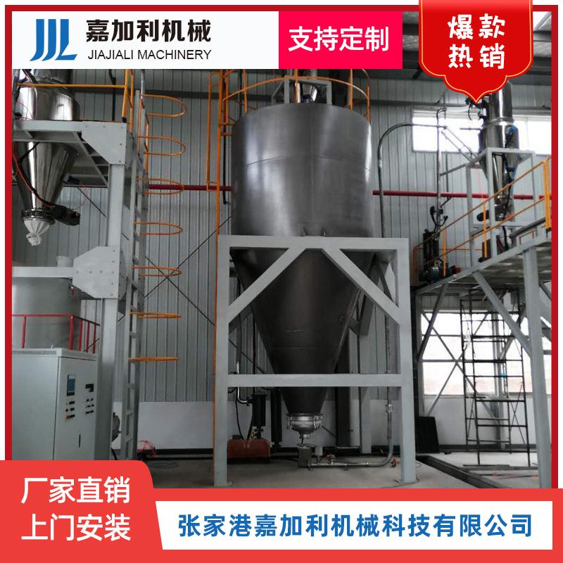 自动混配线安装现场厂家可定制各类上料机混配线磨粉机.jpg
