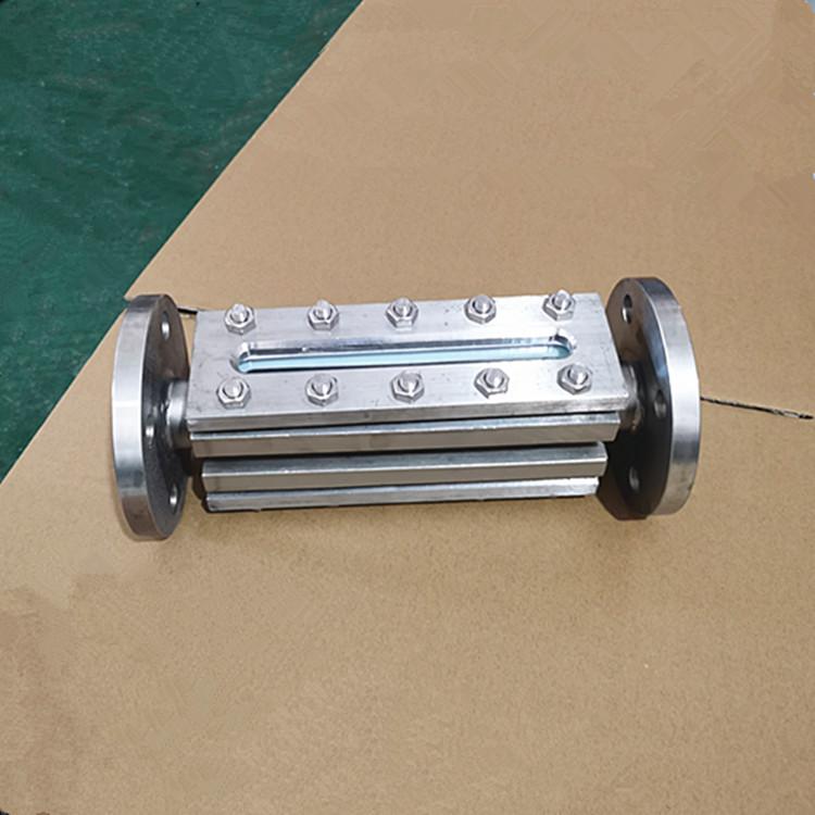 不锈钢碳钢化工管道配件304 316L长条法兰视镜951352685
