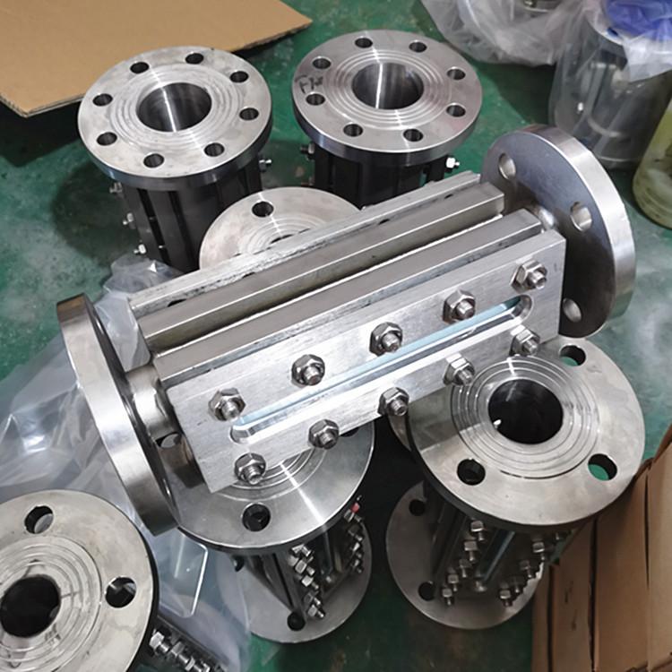 不锈钢碳钢化工管道配件304 316L长条法兰视镜951352665