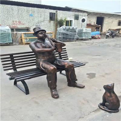 玻璃钢人像雕塑 公园景观人像雕塑 玻璃钢雕制造153238905