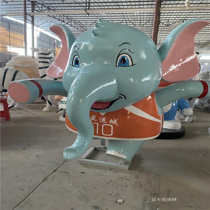 广州玻璃钢卡通雕塑厂家 吉祥物卡通公仔雕塑摆件951631995